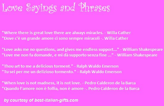 Italian Love Quotes 11