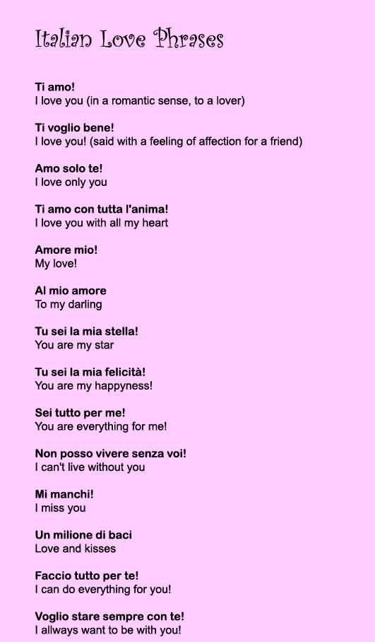 Italian Love Quotes 12