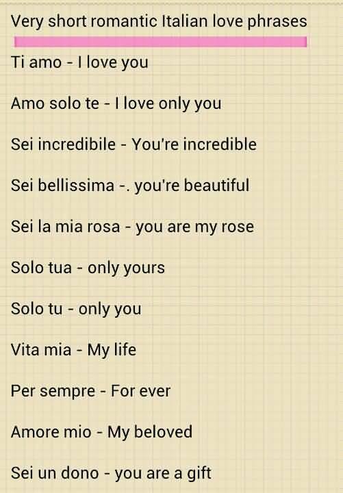 Italian Love Quotes 20