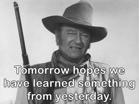 Captivating John Wayne Quote Life Is Hard 10