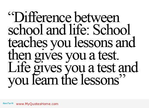 Lesson In Life Quote 05