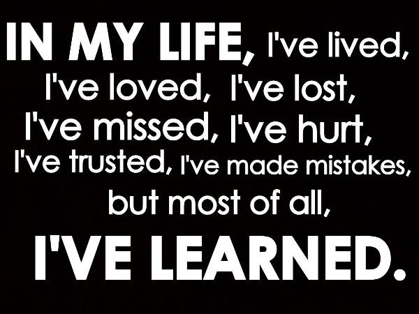 Lesson In Life Quote 17