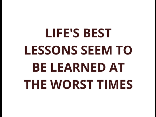 Lesson In Life Quote 18