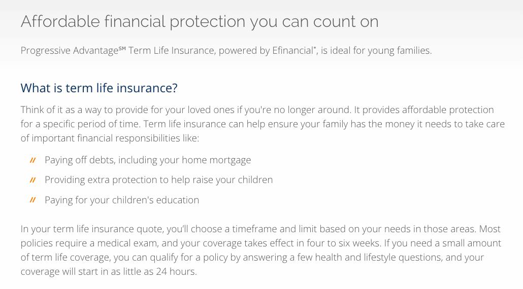 Life Insurance Quotes Progressive 17