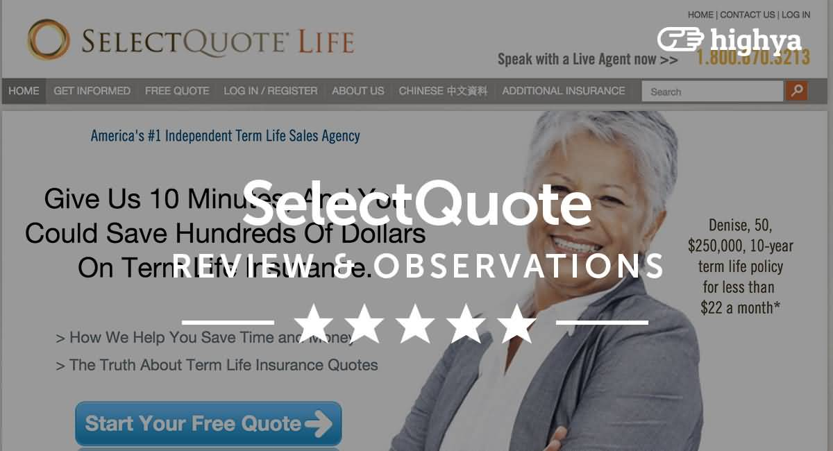 Life Insurance Select Quote 01