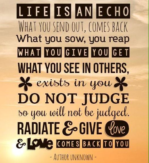 Life Is An Echo Quote 19