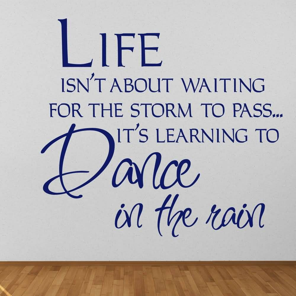 Life Quote Wall Stickers 01