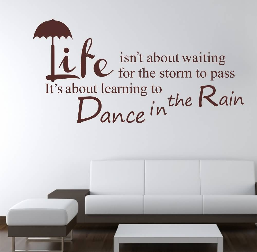 Life Quote Wall Stickers 04