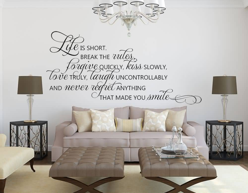 Life Quote Wall Stickers 15