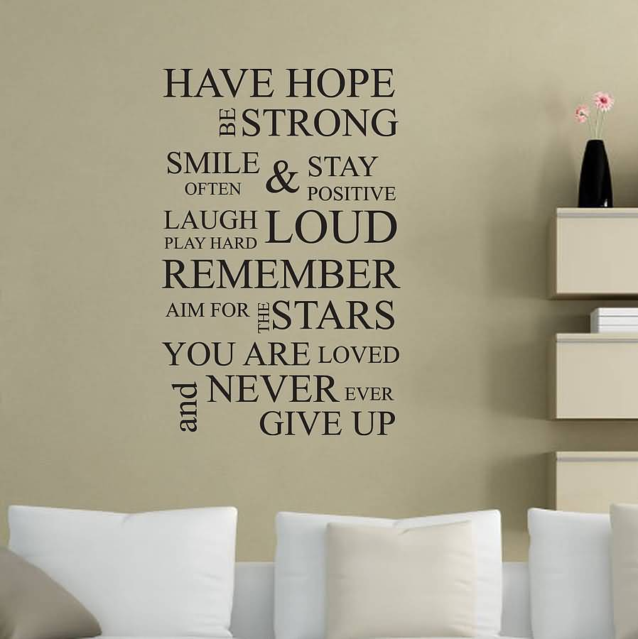 Life Quote Wall Stickers 16