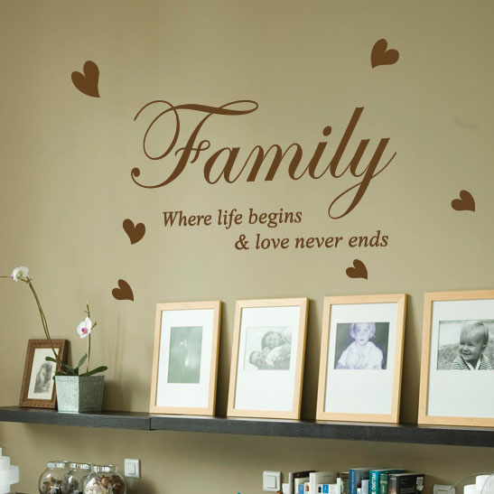 Life Quote Wall Stickers 17