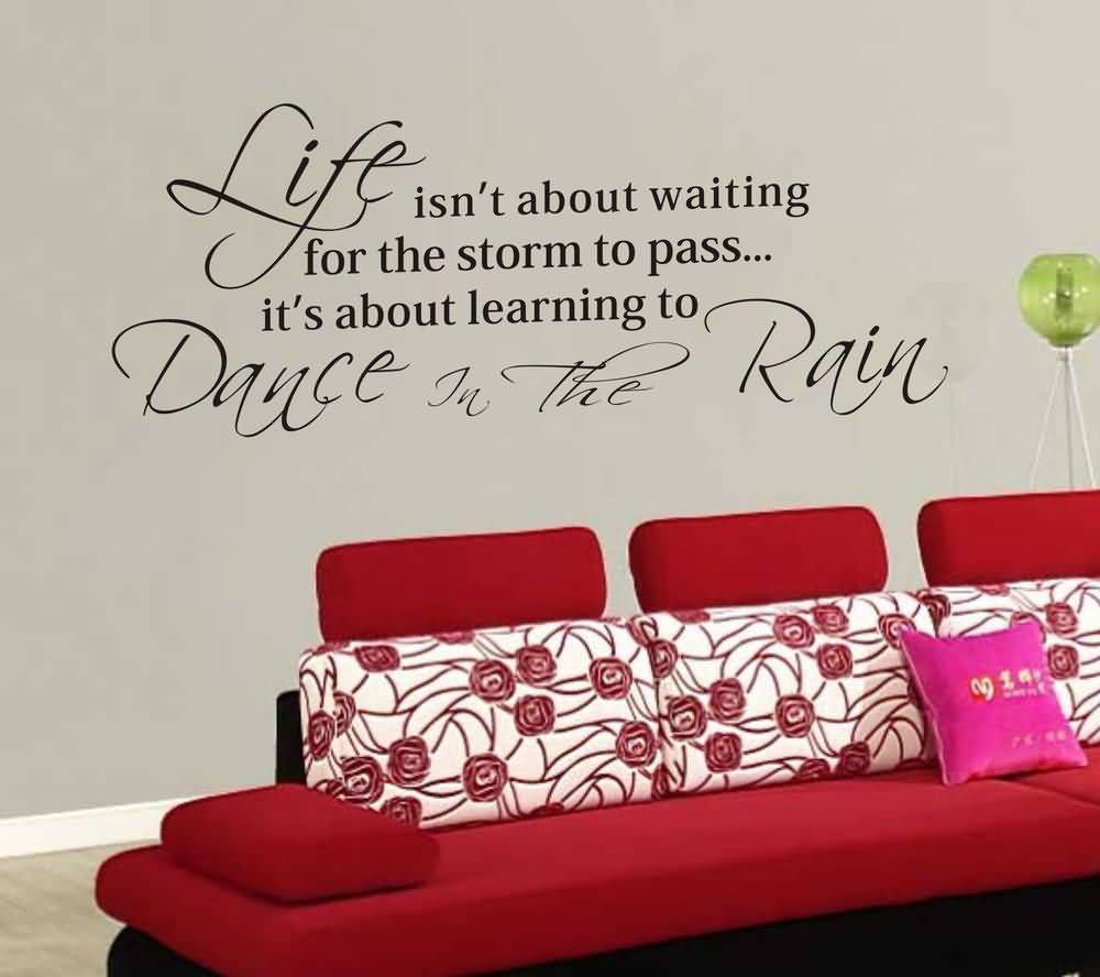 Life Quote Wall Stickers 18