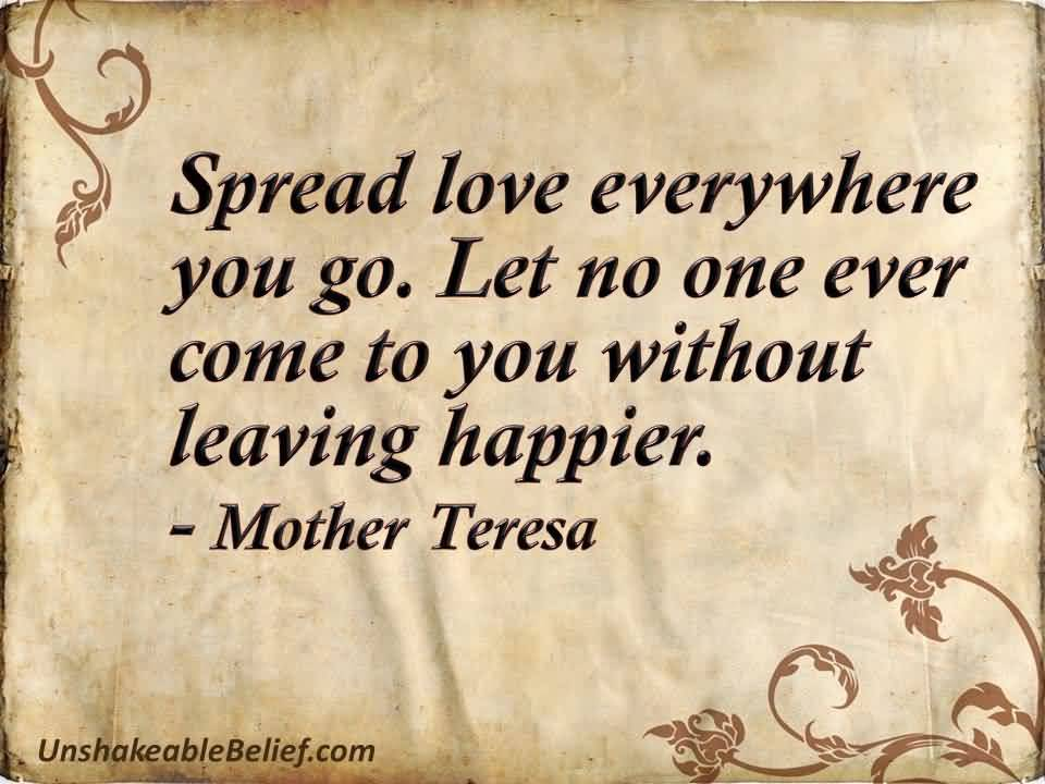 Life Quotes Mother Teresa 16