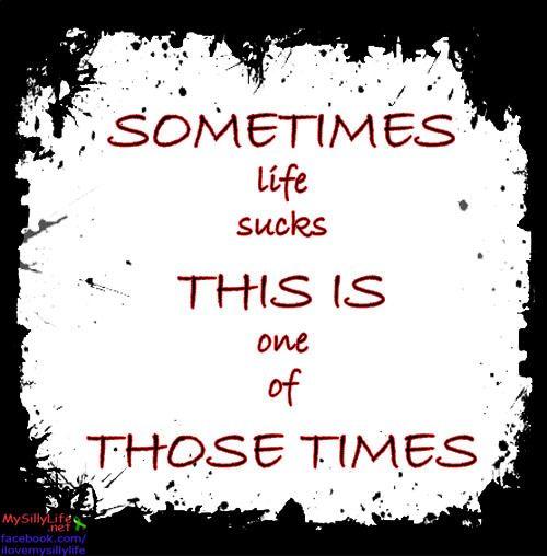 Life Sucks Quotes 60 QuotesBae Unique Life Sucks Quotes