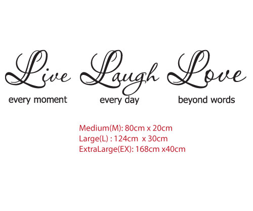 Live Love Laugh Quote 03