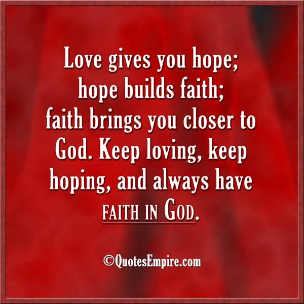 Love And Faith Quotes 02