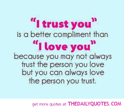 Love And Trust Quotes 14