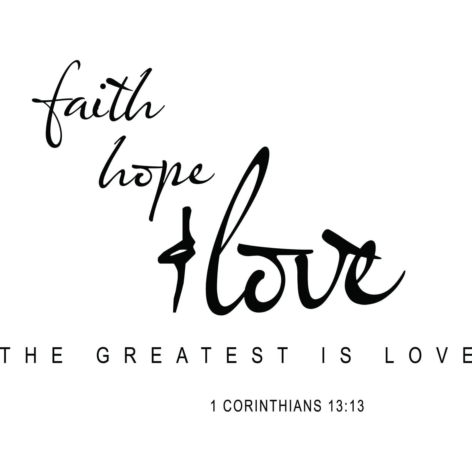 Love Faith Hope Quotes 13