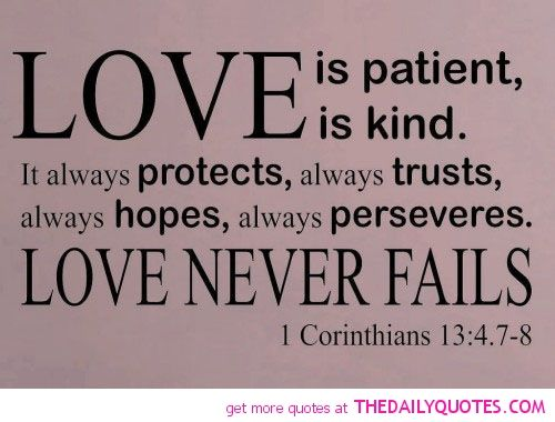 Love Is Quote From Bible 03