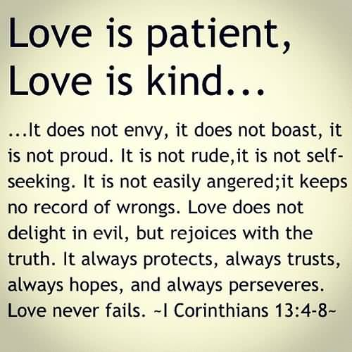 Love Is Quote From Bible 13