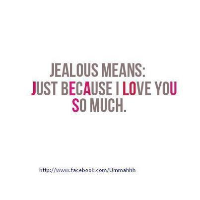 Love Jealousy Quotes 17