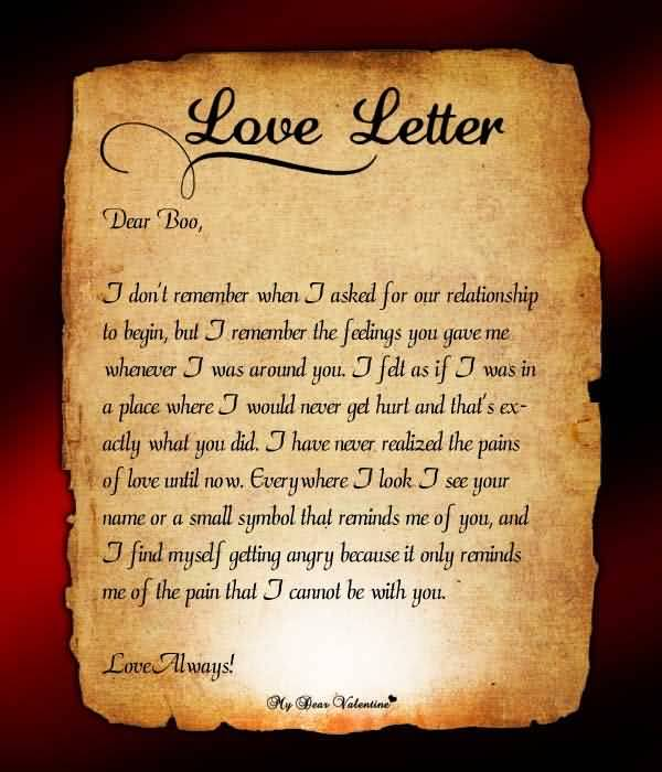 Love Letter Quotes For Him 13