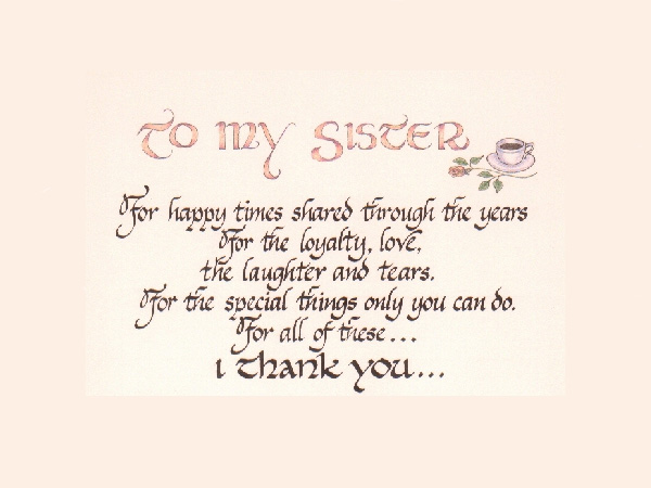 Love My Sister Quotes 11