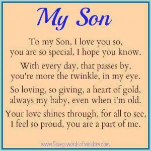 Love My Son Quotes 10