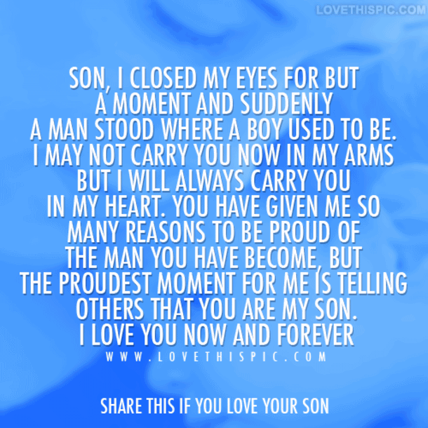 Love My Son Quotes 16