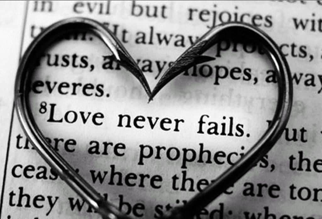 Love Never Fails Quote 01