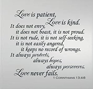 Love Never Fails Quote 09