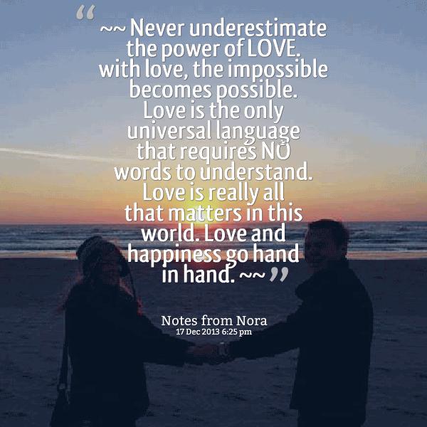 Love Power Quotes 17