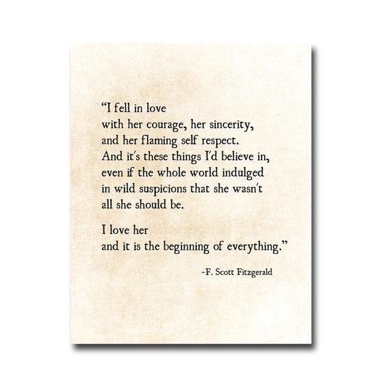 Love Quotes F Scott Fitzgerald 07