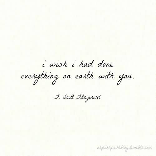 Love Quotes F Scott Fitzgerald 12