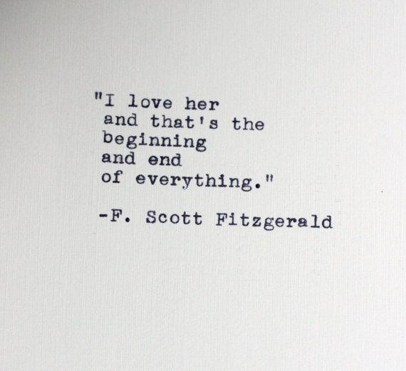 Love Quotes F Scott Fitzgerald 16