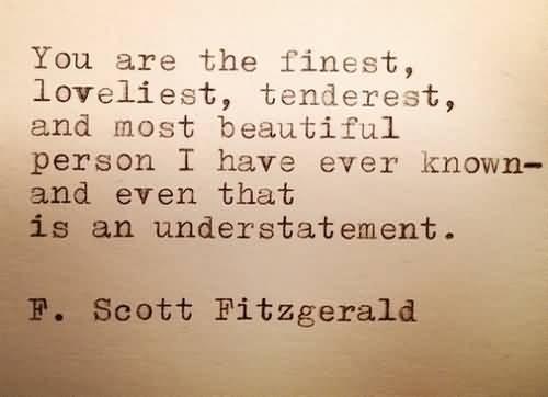 Love Quotes F Scott Fitzgerald 19