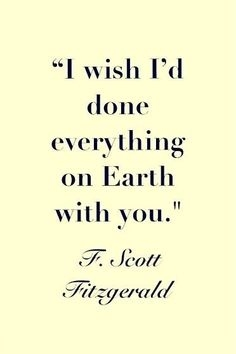 Love Quotes F Scott Fitzgerald 20