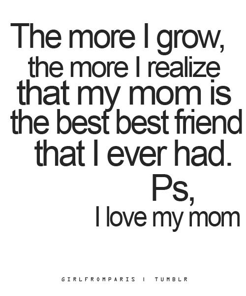 Love Quotes For Mom 13