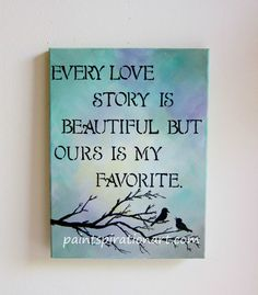 Love Quotes On Canvas 03