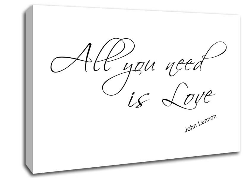 Love Quotes On Canvas 05