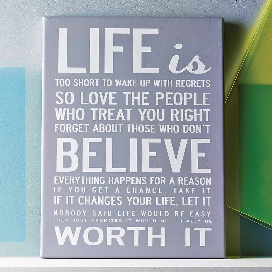 Love Quotes On Canvas 07