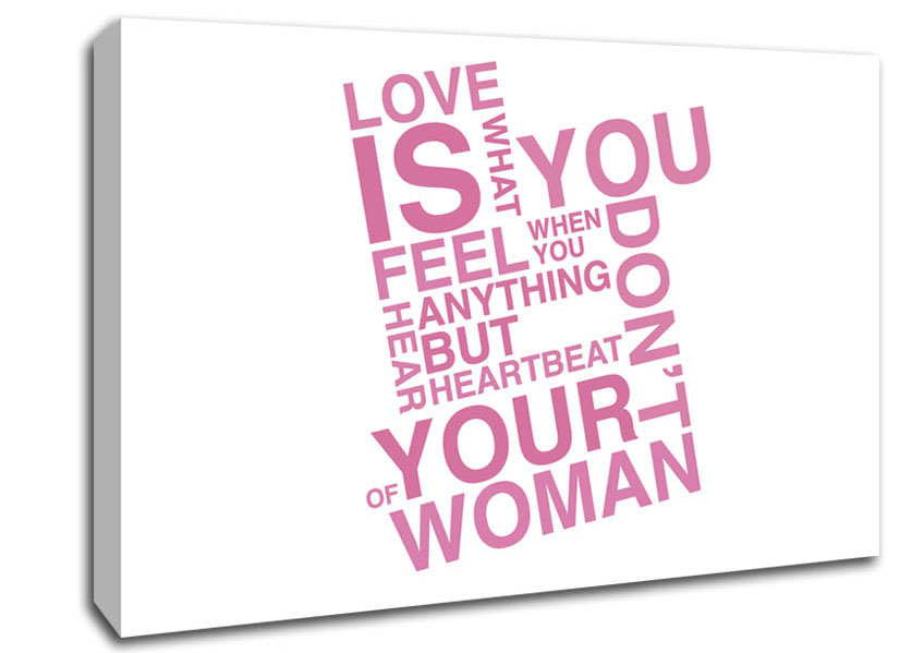 Love Quotes On Canvas 09