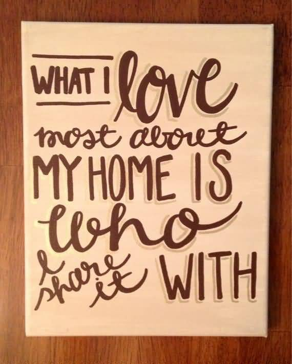 Love Quotes On Canvas 10