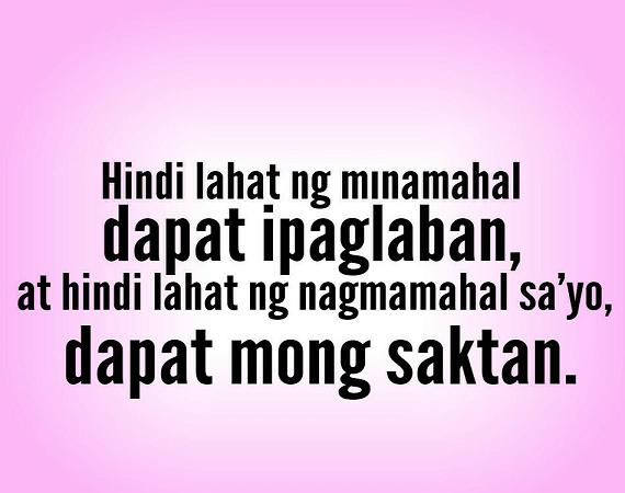 Love Quotes Tagalog 11