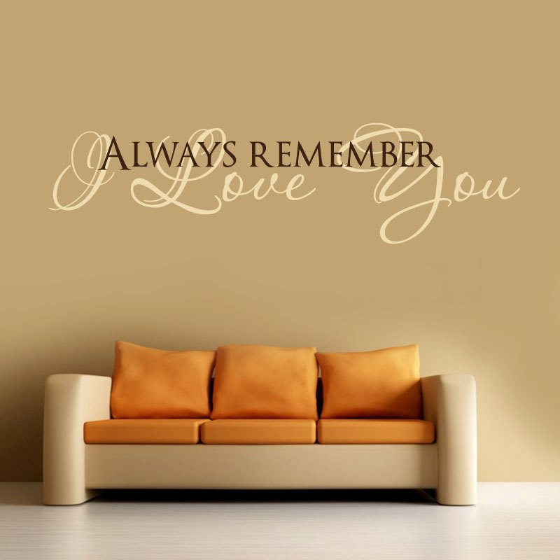 Love Quotes Wall Decals 07
