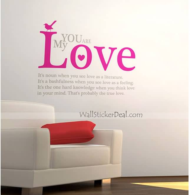 Love Quotes Wall Decals 08