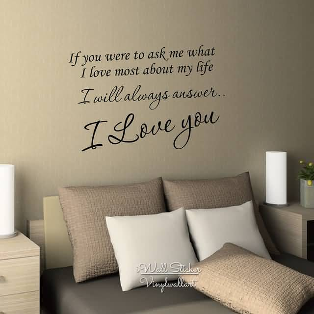 Love Quotes Wall Decals 11