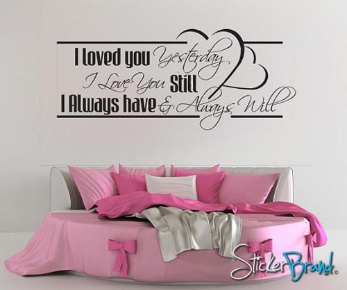 Love Quotes Wall Decals 13