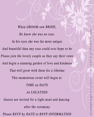 Love Quotes Wedding Invitation 10