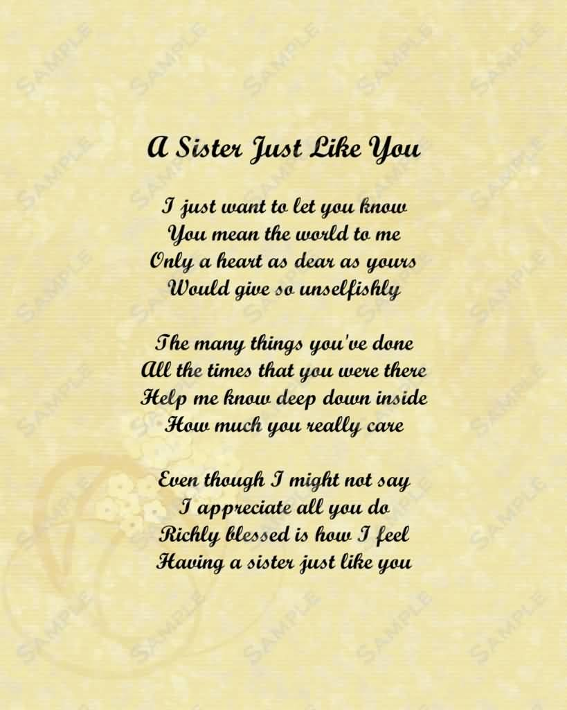 Love You Sister Quotes 01 | QuotesBae